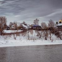Коломна со стороны Москвы-Реки