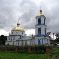 Троицкая церковь. Село Охона.