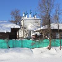 Остатки укреплений шуйского кремля (бывший ров и остатки вала).