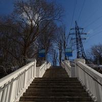 Лестница к Волховской ГЭС