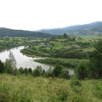 село Перепростыня, река Стрый