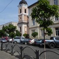 Улица Карпатской Сечи. Римско-католический костел Святой Анны