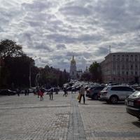 Площадь Михайловская. Вид на Софиевский собор