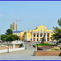 Филармония и памятник Прокофьеву С.