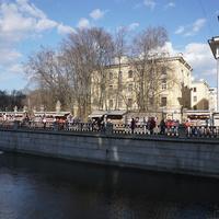 Набережная канала Грибоедова.