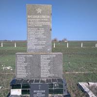 Пам'ятний знак загиблим воїнам в с. Косаківці.