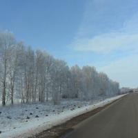 Зимняя дорога, Сасовский район, 2018