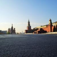 Москва - Красная площадь - Утро