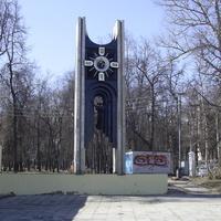 Н. Новгород - Часы у здания ТЮЗа