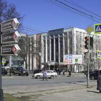 Н. Новгород - На перекрёстке ул. М. Горького и Ошарской