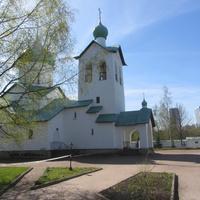 Парк Город Героев. На территории  храма Сергия Радонежского