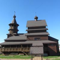 Никольское. Церковь Николая II, царя-мученика