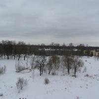 Вид со смотровой площадки на парк Мариенталь