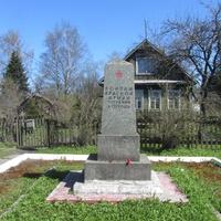 братская могила красноармейцев, погибших в 1919-м году