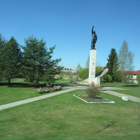 Памятник летчику Шаронову