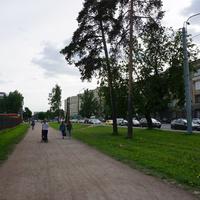 Парк Технического университета.