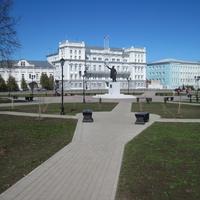 Центральная площадь Сарапула(Красная площадь)