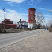 Водонапорная башня у ж.д. вокзала