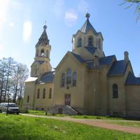 Лисино-Корпус. Церковь Происхождения честных древ Креста Господня.