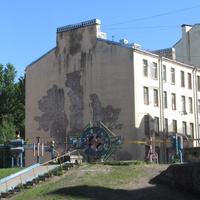 Нарвский проспект, во дворах