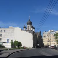Подворье Спасо-Преображенского Валаамского ставропигиального мужского монастыря . Церковь во имя Казанской иконы Божией матери