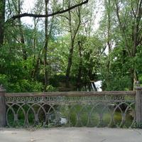 Мостик через реку Дудергофку
