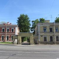 Комплекс домов при Екатерингофской бумагопрядильной мануфактуре