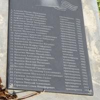 Мемориал - братская могила ВОВ