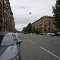 Вяземский переулок.