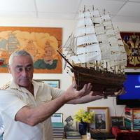 Шебекино. В Музее Военно-Морского флота.