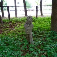 Горбунки. Детская скульптура советских времен