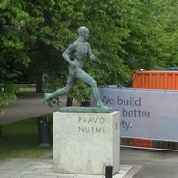 Памятник Пааво Нурми