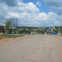 Июльское,центр села.