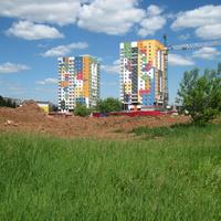 Новостройки на проспекте Калашникова
