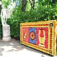 Цветочные ковры по мотивам античных мозаик