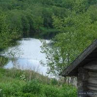 Река уверь вид из центра д.Никифорово