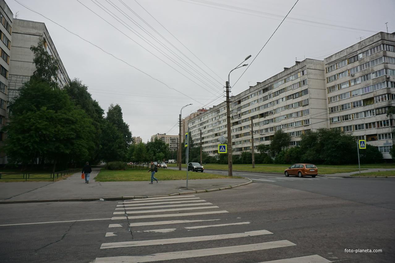 Улица Серебристый бульвар.