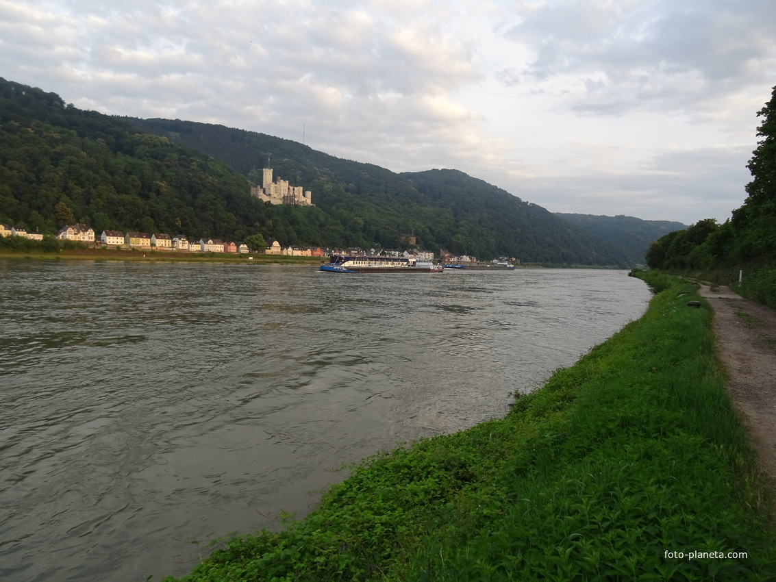 Река Рейн | Ланштайн (Рейнланд-Пфальц)