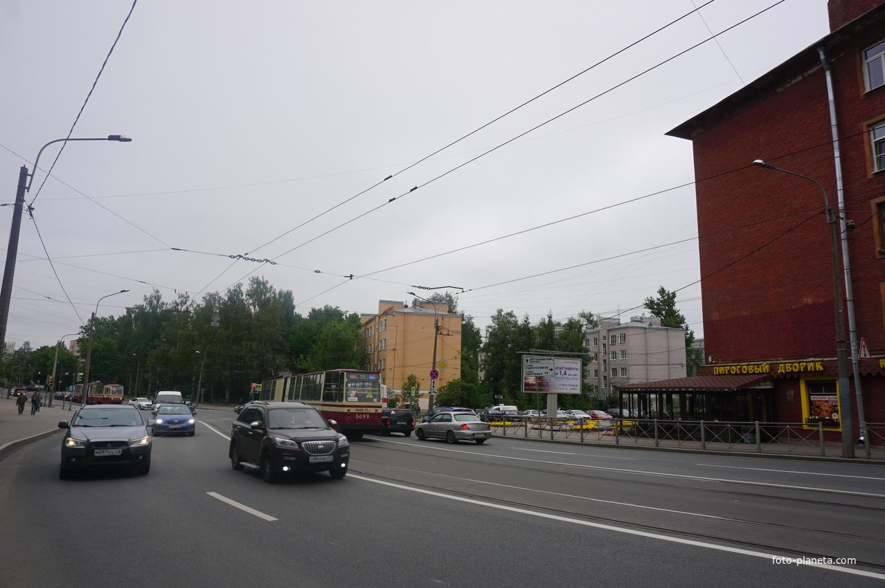 Политехническая улица. | Академическое (муниципальный округ)