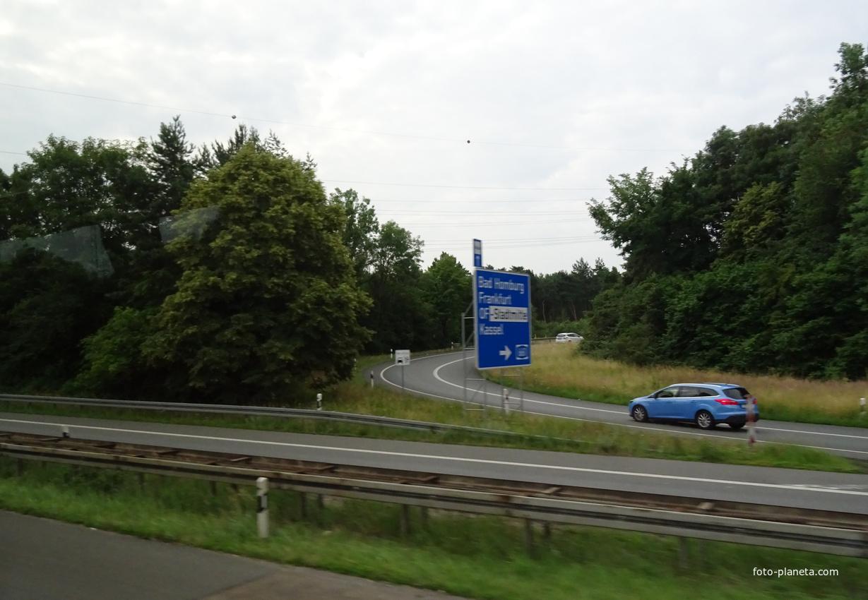 Дорога в Ашаффенбург | Гессен