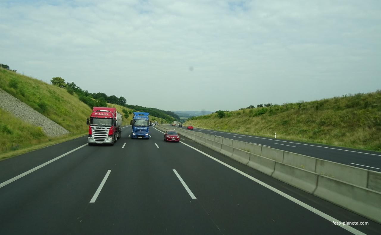 Дорога из Ашаффенбурга