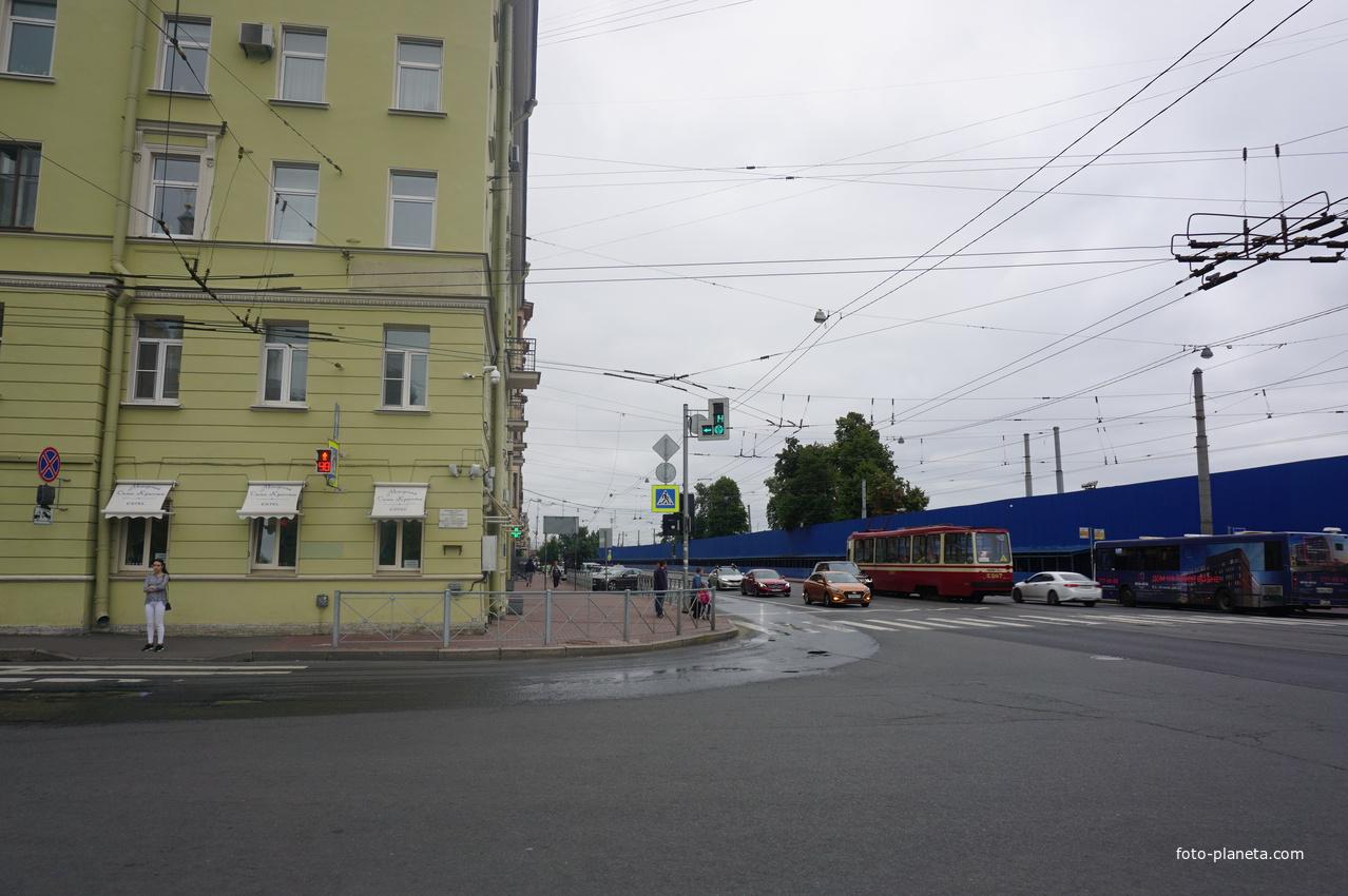 Проспект Добролюбова. | Введенский (муниципальный округ)