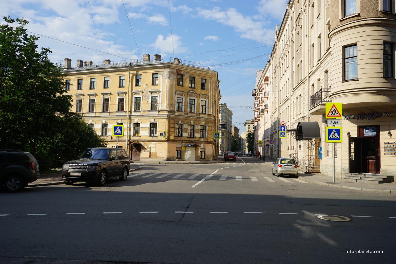 Улица Блохина.
