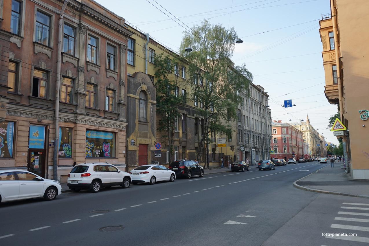 Каменноостровский проспект.
