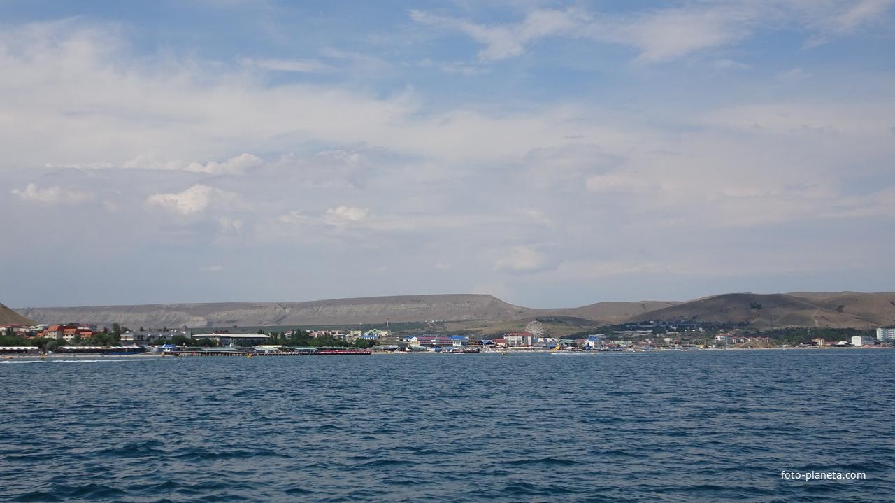 Коктебель. Вид с моря