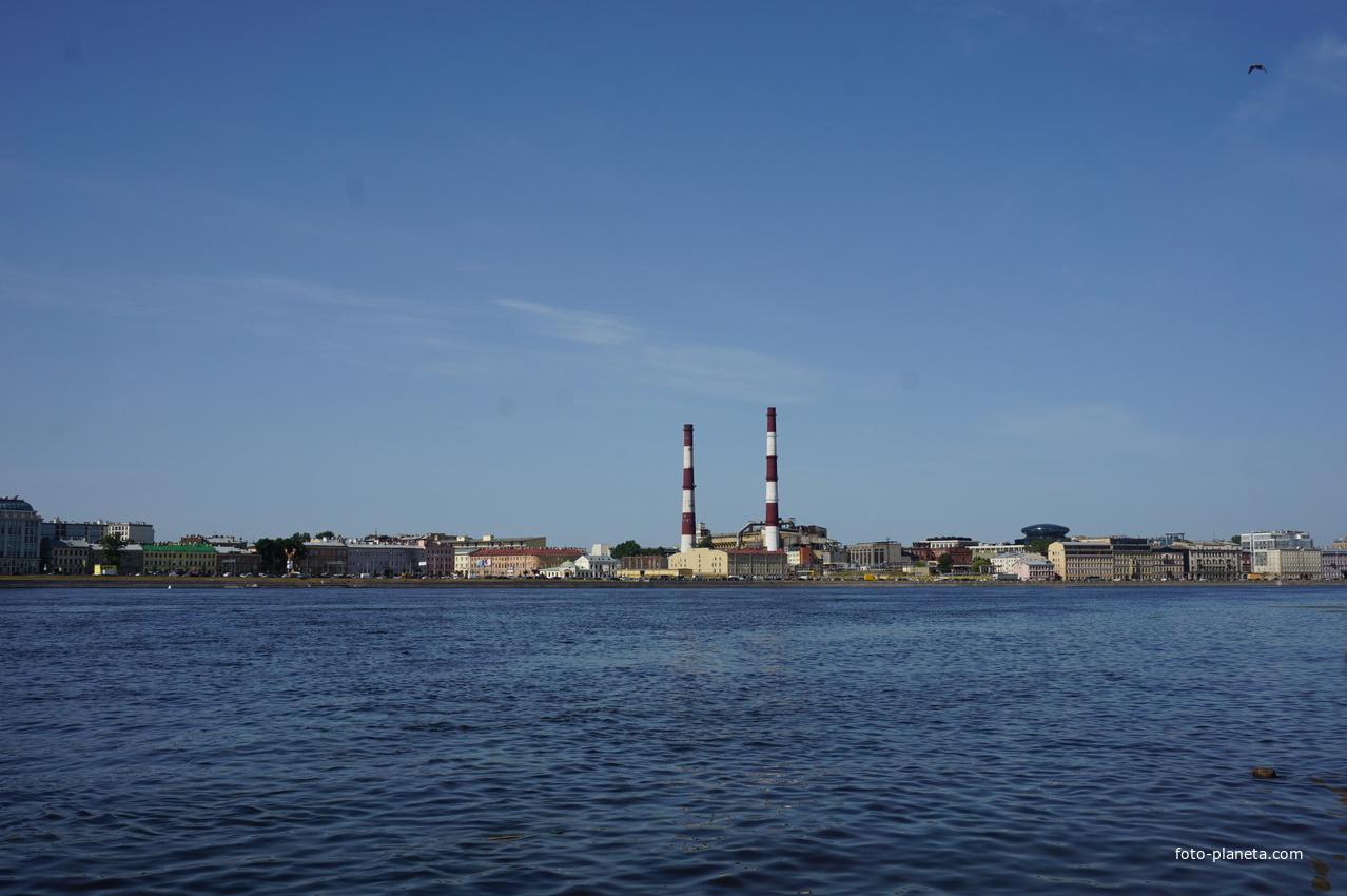 Река Нева.