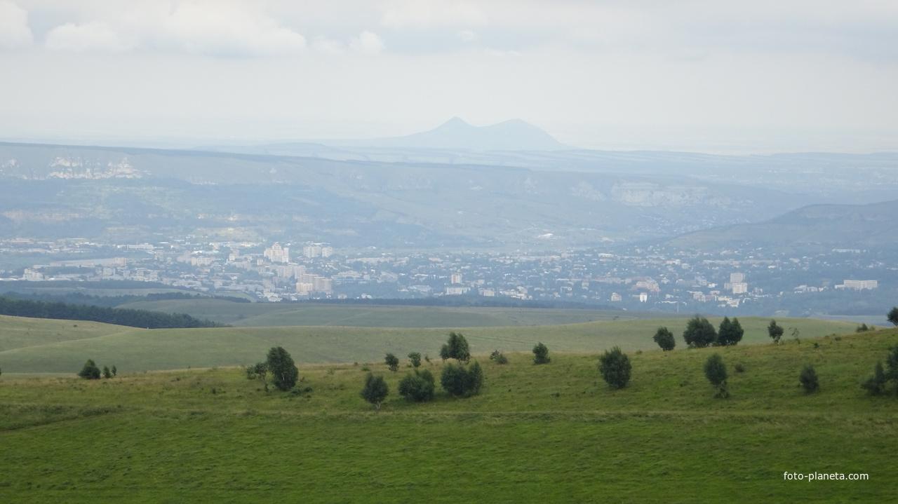 Кисловодск. Панорама со стороны а. Кичи-Балык