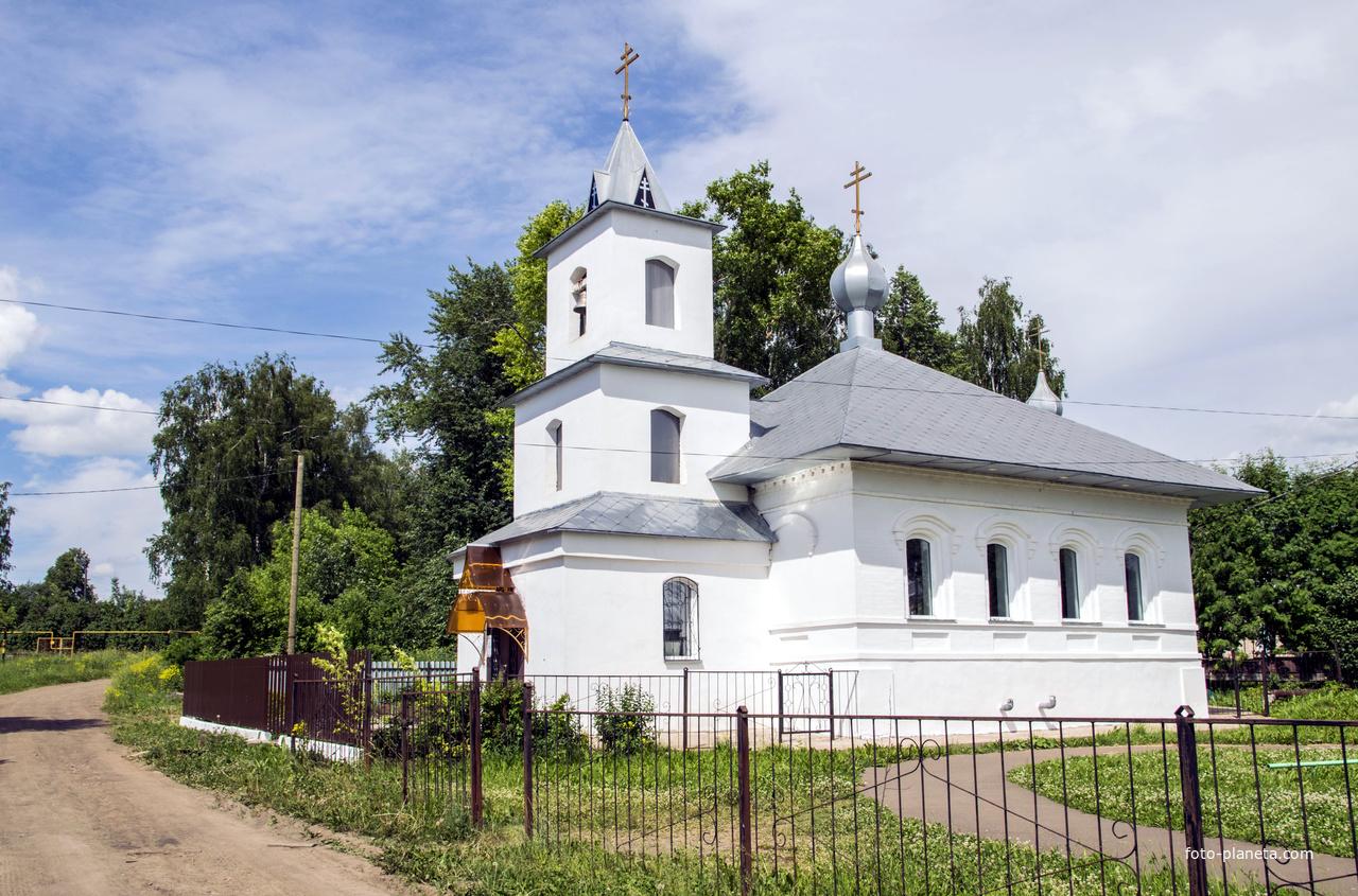 Благовещенская церковь в Мухино новая постройки 2014 года