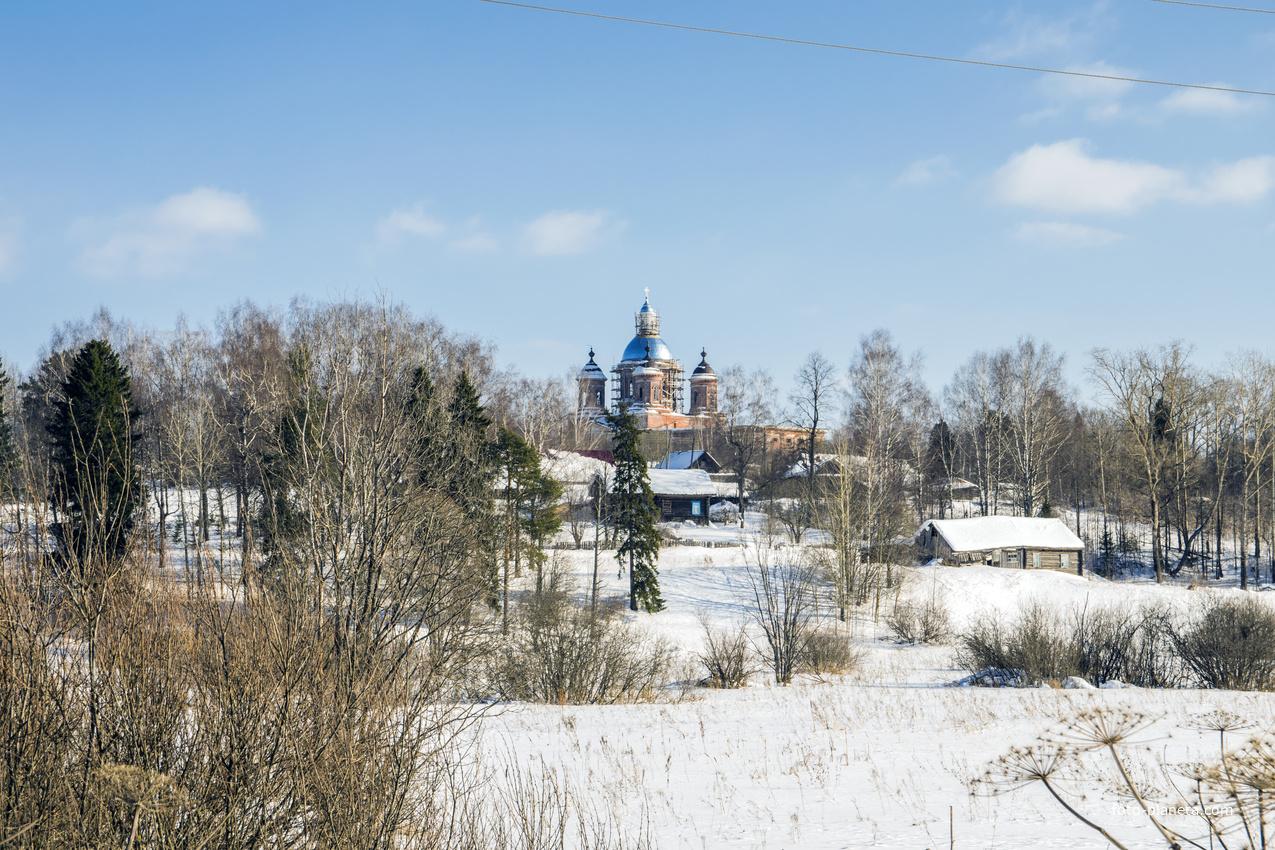 Панорама с. Ухтым Богородского района Кировской области