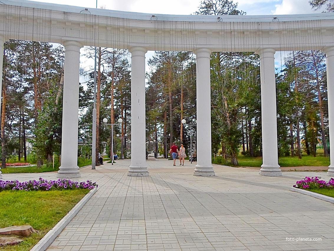 В парке имени Орешкова